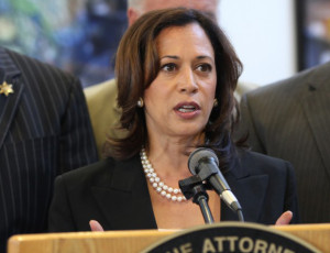 California Attorney General Kamala Harris. Image from oag.ca.gov.