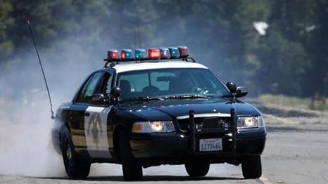 A CHP cruiser. Photo courtesy CHP
