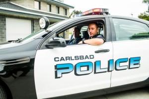 Carlsbad Police cruiser. Photo courtesy Carlsbad Police.