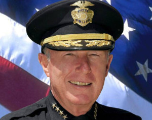 San Diego Police Chief William M. Lansdowne. Official photo.