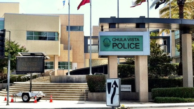 Chula Vista Police Department. Photo by Chris Jennewein