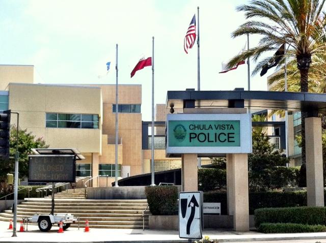 Chula Vista Police Department. File photo.