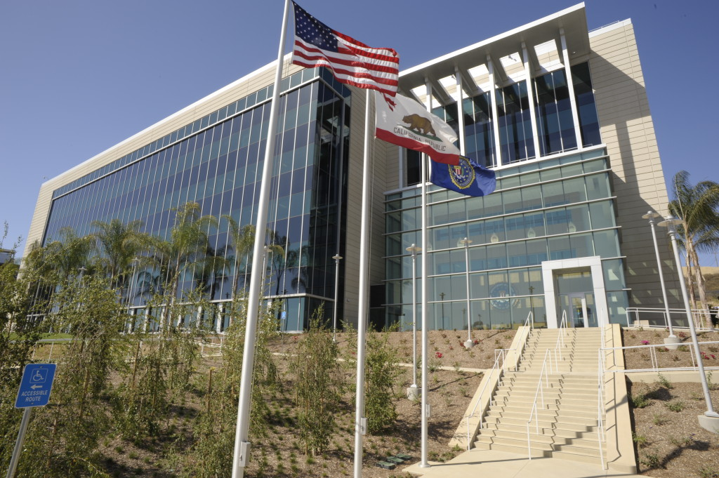 The FBI's San Diego office in Mira Mesa. Photo courtesy FBI