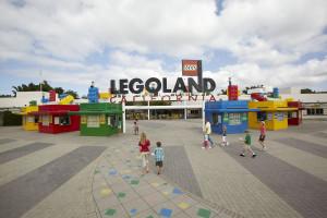 Main entrance to Legoland California in Carlsbad. Photo courtesy Legoland.