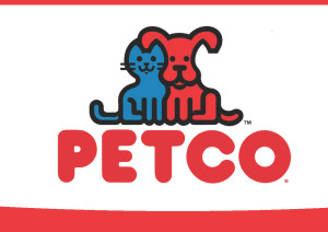 Logo of Petco pet store.