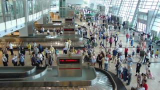 Crowds at Terminal 2