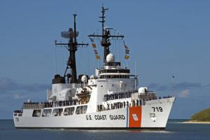 U.S. Coast Guard Cutter Boutwell. Coast Guard photo.