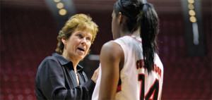 Former SDSU coach Beth Burns. Photo courtesy SDSU website.