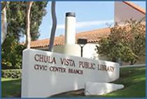 The Chula Vista Library's Civic Center branch. City photo.