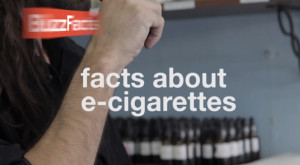 Facts about electronic cigarettes. Image from YouTube.com