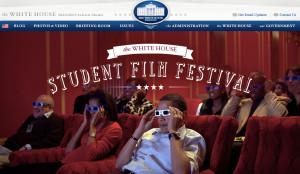 White House Student Film Festival. Image from whitehouse.gov
