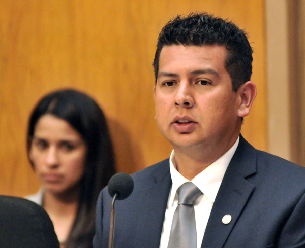 San Diego Councilman David Alvarez  Photo by Chris Stone