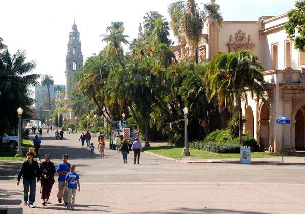 A view of Balboa Park. Photo by Chris Stone