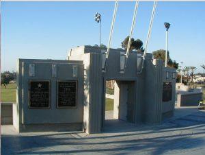 Kimball Park War Memorial in National City.