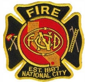 National City Fire Department patch
