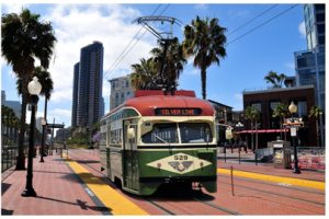 MTS Silver Line Vintage Trolley