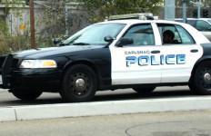 Carlsbad police car.  Photo by Chris Stone