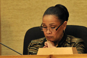 San Diego Councilwoman Myrtle Cole.  Photo by Chris Stone