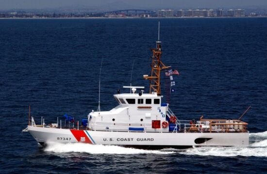 Coast Guard cutter Haddock off Coronado. USCG photo