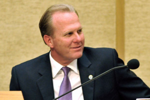 San Diego Mayor Kevin Faulconer.  Photo by Chris Stone
