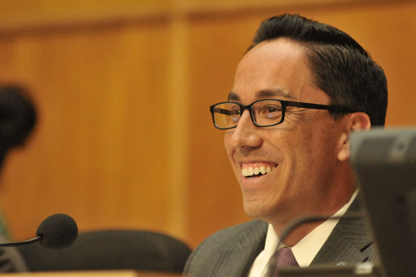 San Diego City Councilman Todd Gloria.  Photo by Chris Stone