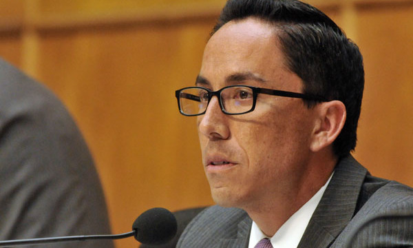 San Diego City President Todd Gloria.  Photo by Chris Stone