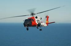 A Coast Guard helicopter. Photo credit: coastguard.dodlive.mil