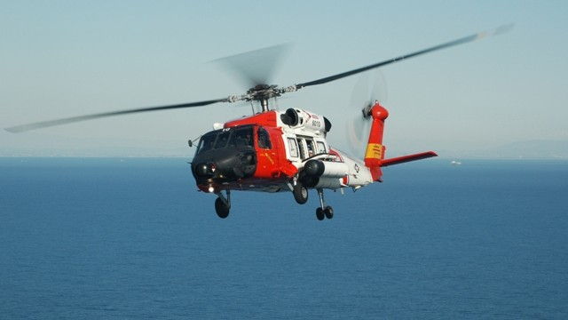 A Coast Guard helicopter. Photo credit: coastguard.dodlive.mil