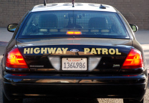 California Highway Patrol car.  Photo by Chris Stone