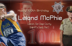 Retired sheriff's Capt. Leland McPhie will be honored March 10 at agency museum. Image courtesy Sheriff's Department