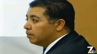 Former police Officer Anthony Arevalos at 2012 court appearance. Photo by NBC San Diego via YouTube