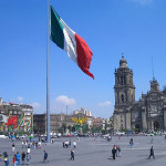 Plaza de la Constitucion in Mexico City