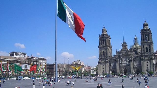 Plaza de la Constitucion in Mexico City