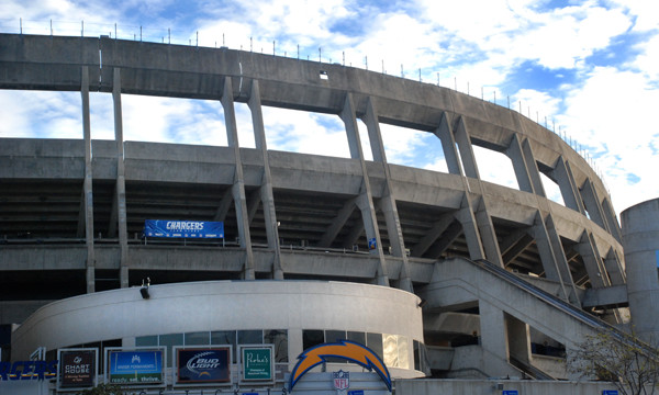Qualcomm Stadium. Photo by Chris Stone