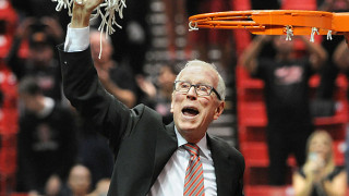 SDSU basketball coach Steve Fisher. Photo courtesy SDSU News Center