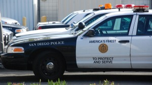 A San Diego Police cruiser. Photo by Chris Stone.