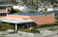 Eugene Brucker Education Center is headquarters of the San Diego Unified School District. Photo courtesy sandi.net