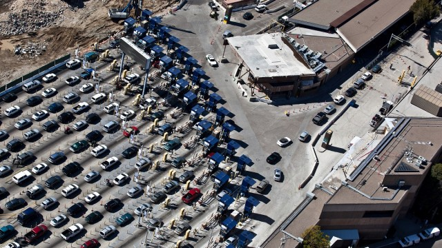 San Ysidro Port Of Entry  >> San Ysidro Port Of Entry To Track Air Pollution With 13 Monitors