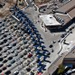 Cars line up at the U.S. Customs and Border Protection inspection station at the San Ysidro Port of Entry, thought to be the busiest land port in the world. Photo by U.S. Customs and Border Protection.