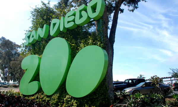 San Diego Zoo Entrance. Photo by Chris Stone