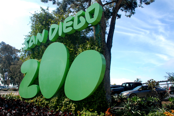 San Diego Zoo Entrance.  Photo by Chris Stone