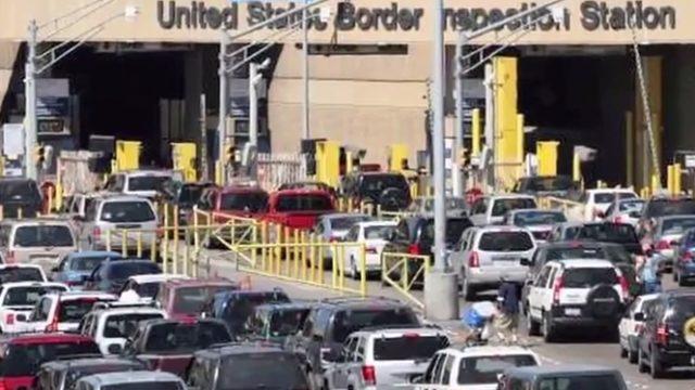 San Ysidro border crossing. Photo credit: YouTube.