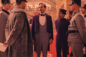 The Grand Budapest Hotel, starring Ralph Fiennes, center. Photo credit: Fox Searchlight/YouTube