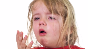 Whooping cough. Photo credit: Akron Childrens/YouTube