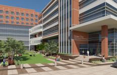 Artist's rendering of Scripps Memorial Hospital in La Jolla. Image from scripps.org