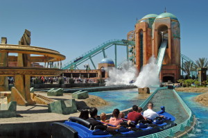 The Journey to Atlantis attraction at SeaWorld San Diego. Photo by Mike Aguilera/SeaWorld