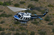 A helicopter in the San Diego Sheriff's Department fleet. Photo courtesy sheriff's department