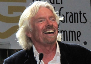 Sir Richard Branson. Image courtesy of Wikimedia Commons