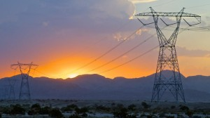 The Sunrise Powerlink in East County brings solar-generated electricity to San Diego. Photo courtesy SDG&E
