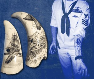 Tattoo Scrimshaw